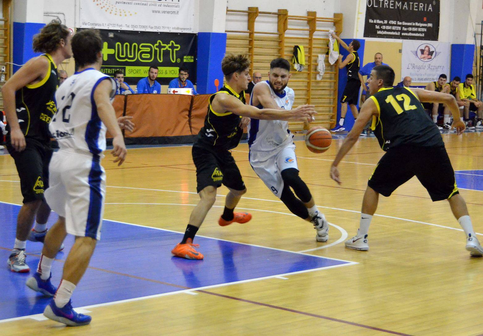 Dany Dolphins Riccione-Scuola Basket Cavriago 77-70 dts