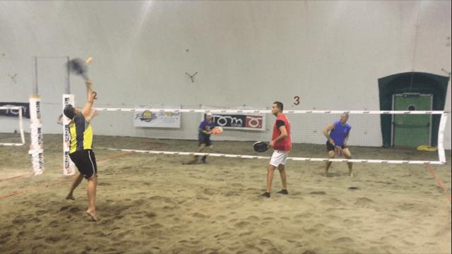 Disputato il 6°turno del campionato maschile di beach tennis al Tennis Viserba