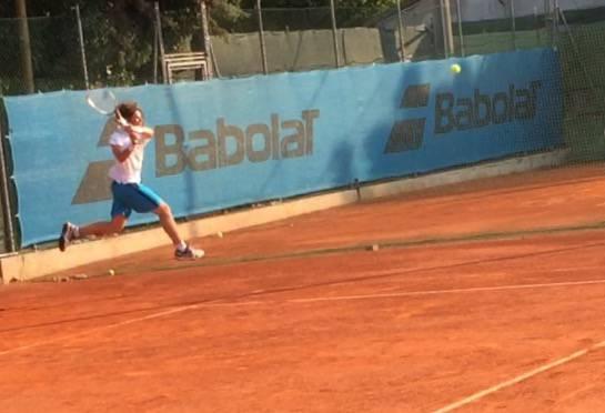 Manuel Mazza conquista la finale nel torneo nazionale Open del Circolo Up Tennis