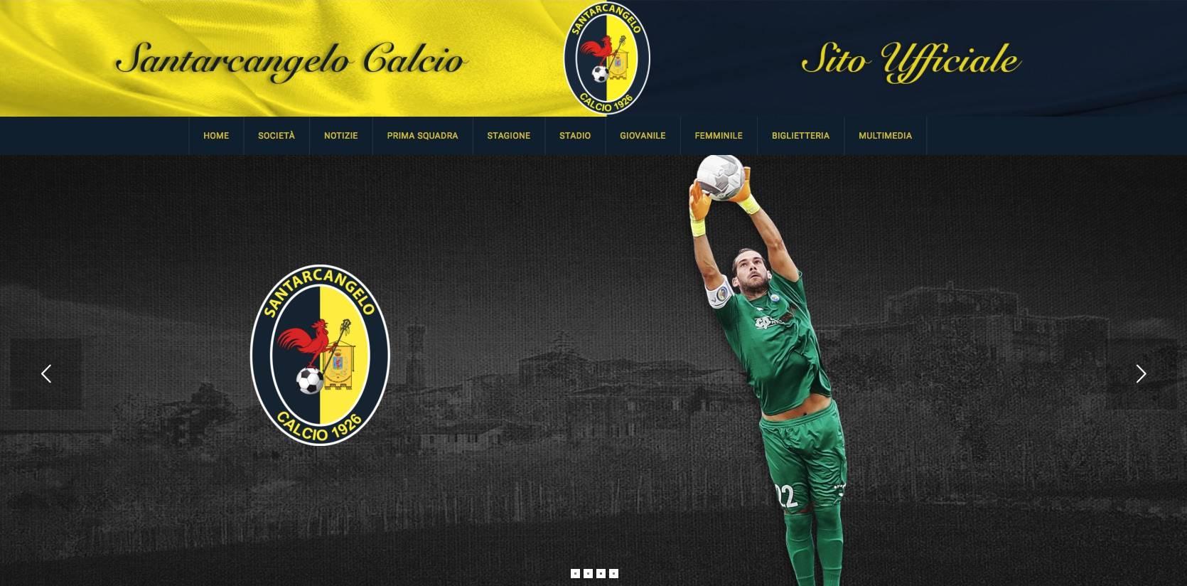 Il nuovo sito del Santarcangelo Calcio