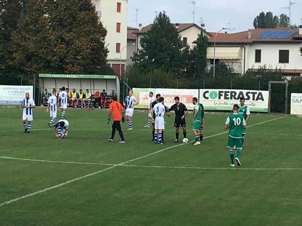 Eccellenza. Sant'Agostino-Fya Riccione 0-1: cronaca e tabellino