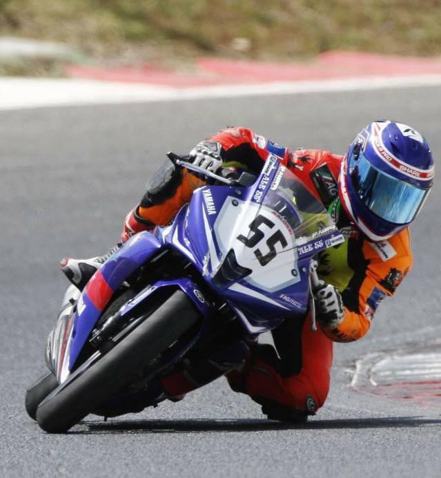 Il riminese Alessandro Arcangeli vince la Yamaha 125 Cup