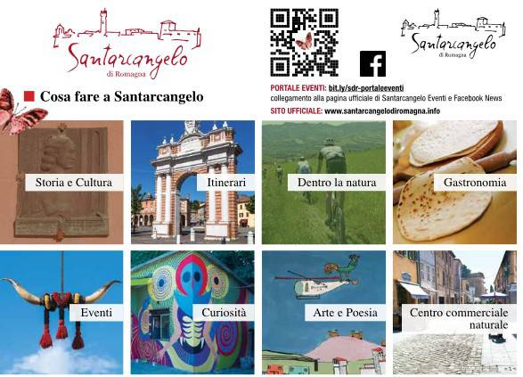 Santarcangelo, una nuova brochure per la promozione turistica