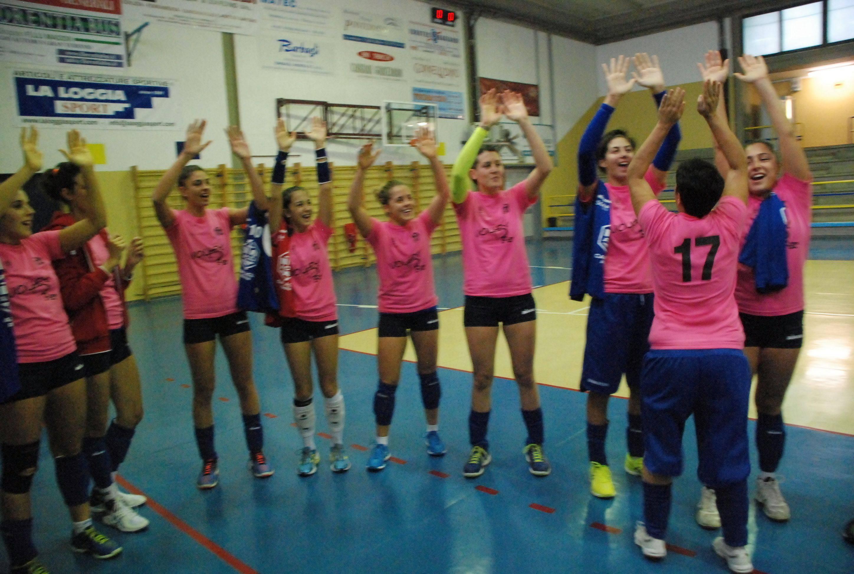Volley B2 femminile. Valdarninsieme Castelfranco Ar-Caf Acli Stella Rimini 1-3