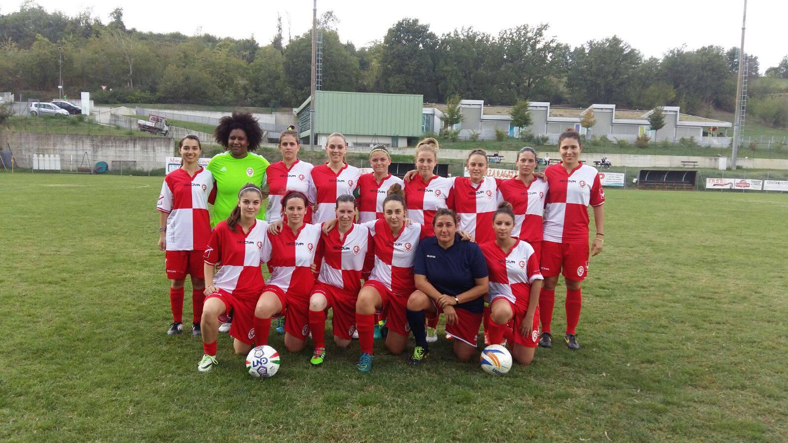 Olimpia Vignola-Femminile Rimini 2-1: cronaca e tabellino