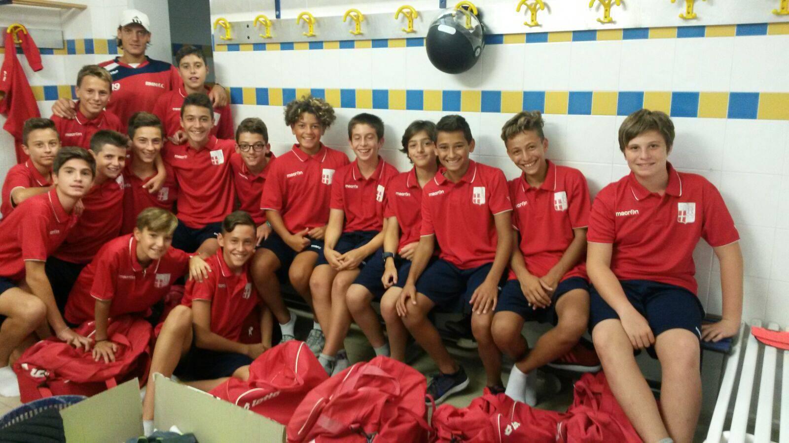 Rimini FC. Doppio successo per i baby biancorossi