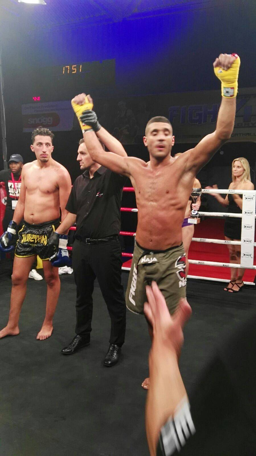 Thai Boxe. Anoir Bouguila batte il belga Zakaria nelle Fight For Glory Series