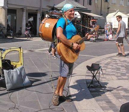 Musica in strada.