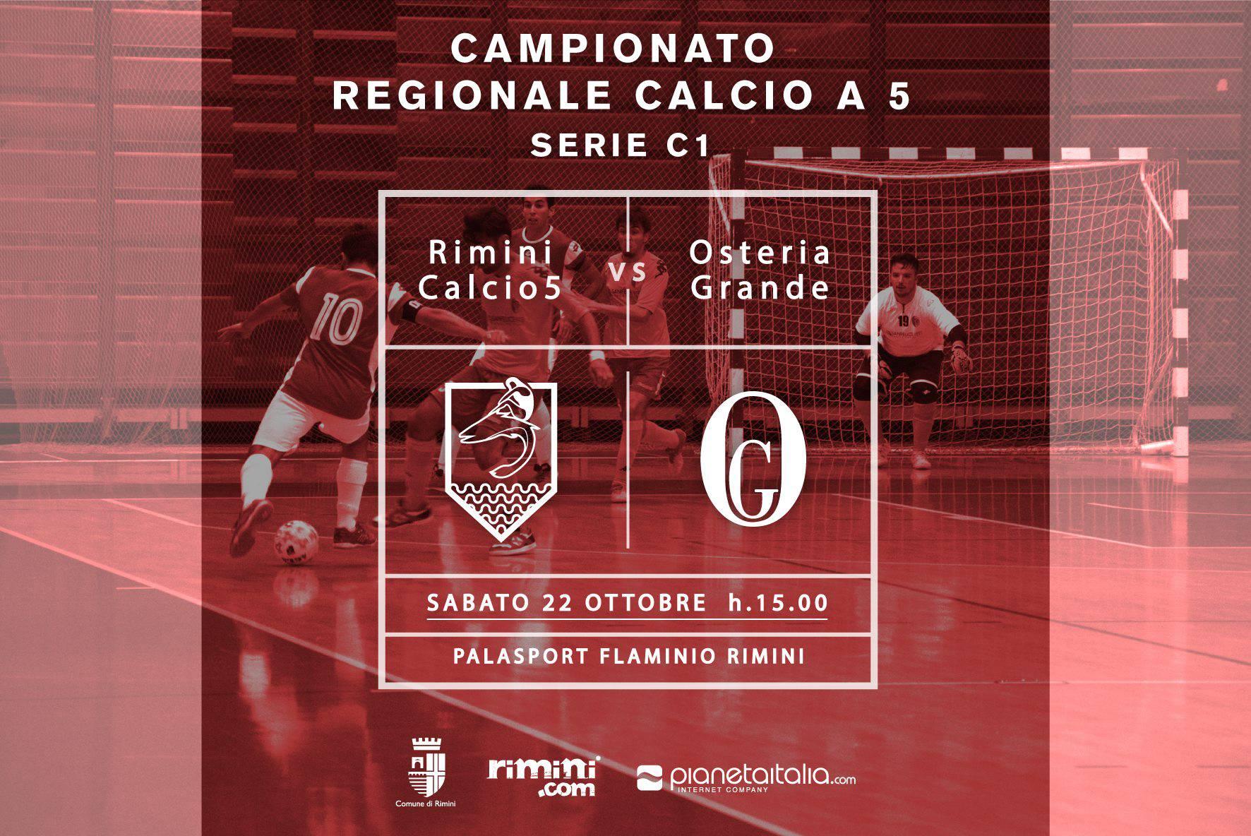 Calcio a 5. Rimini, attento alla fame di rivincita dell'Osteria Grande