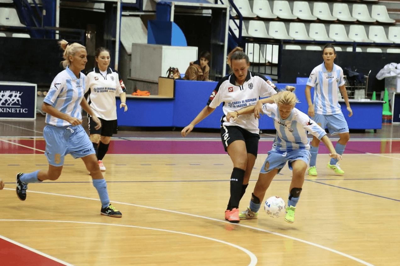 Calcio CSI femminile. Il Solaris Viserba Futsal sconfitto 2-5 dal Castelvecchio