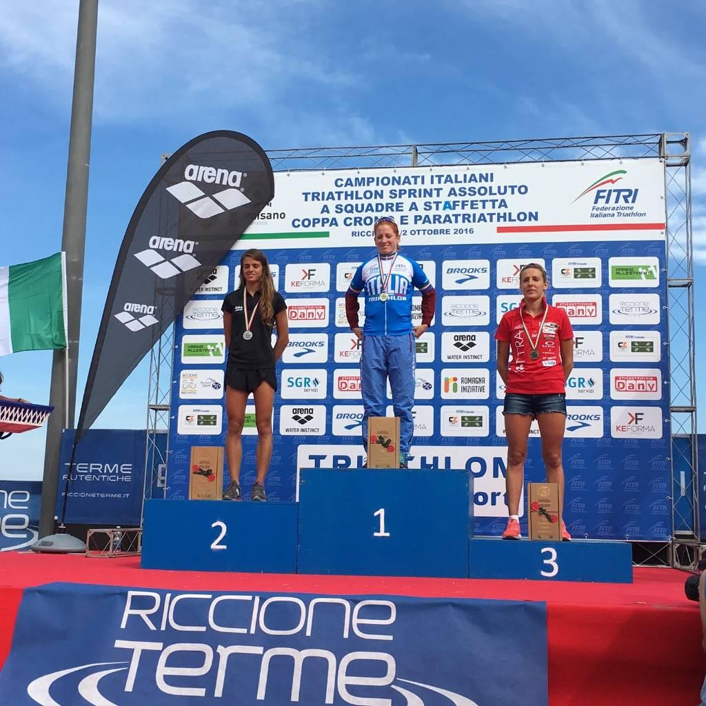 Triathlon Sprint. Annamaria Mazzetti e Daniel Hofer sono i Campioni Italiani 2016