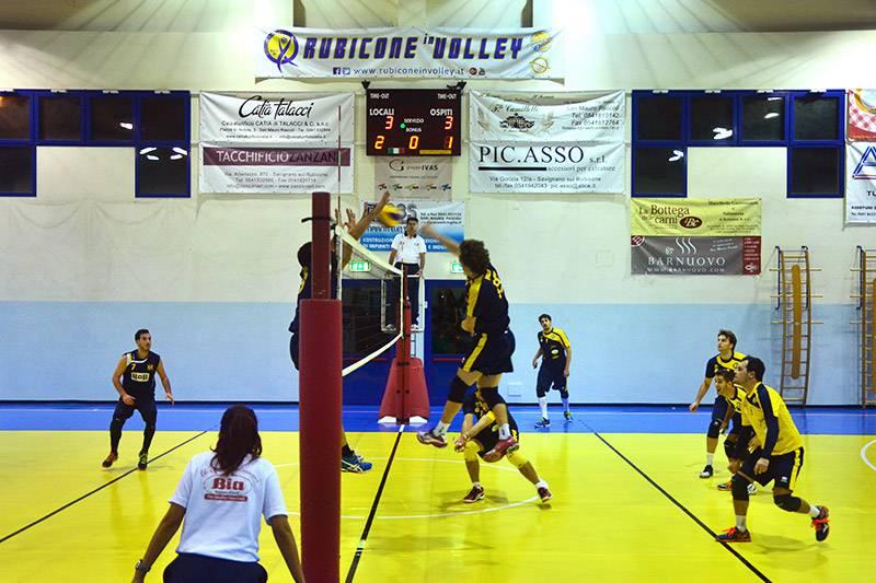 Rubicone In Volley-Romagna Est Bellaria 0-3