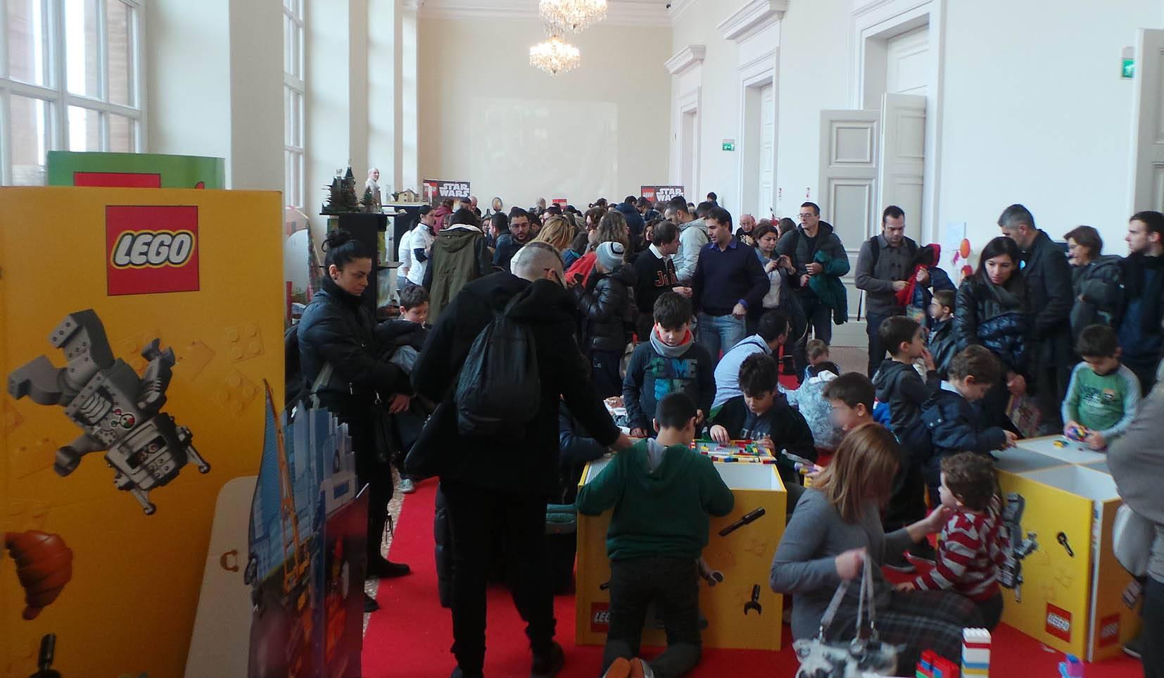 Dal 26 novembre al Foyer del Galli torna la mostra dei Lego