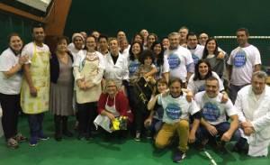 i volontari insieme al sindaco Renata Tosi