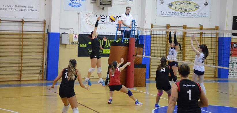 Volley C femminile. Riccione Volley-Progresso Sace Bologna 3-0