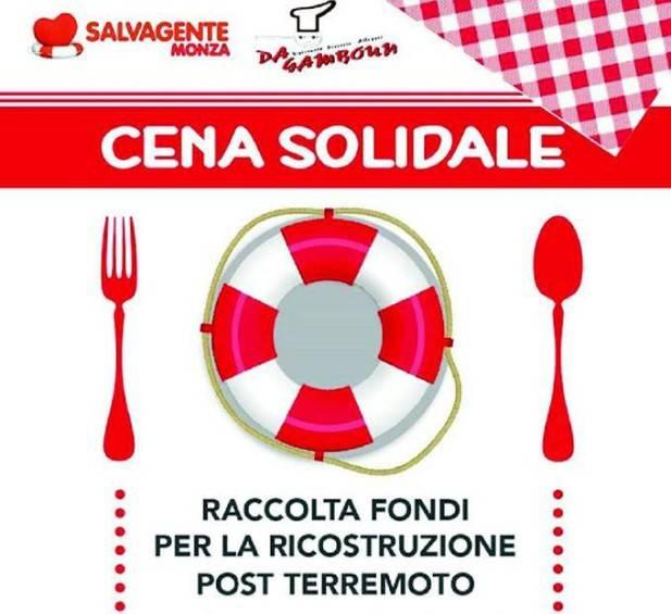 """Terremoto. A Poggio Torriana la cena solidale dell'associazione """"Salvagente"""""""