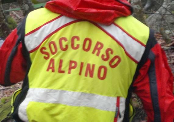Soccorsi escursionisti riminesi sorpresi dal maltempo