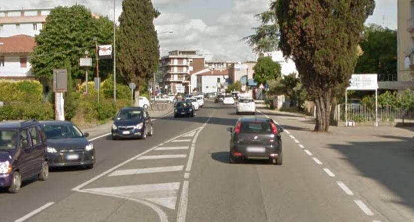 Slittano di due giorni i lavori in via Emilia a Santarcangelo