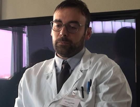 Presentato il nuovo primario di pediatria Gianluca Vergine