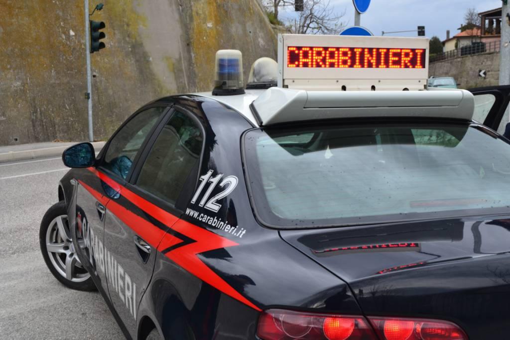 Spaccio, Carabinieri arrestano 21enne di Verucchio