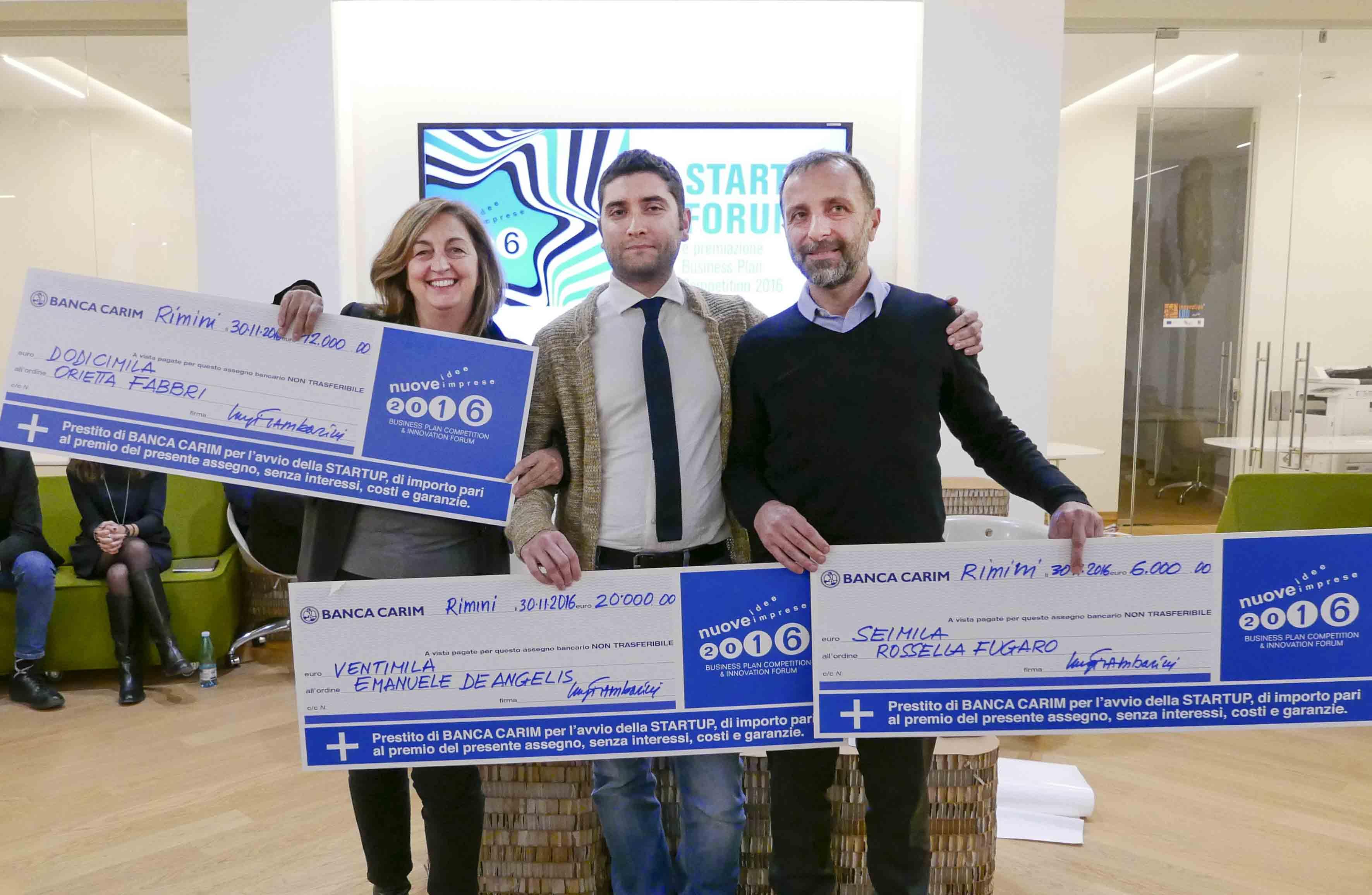 Nuove Idee Nuove Imprese, proclamati i vincitori della 15° edizione