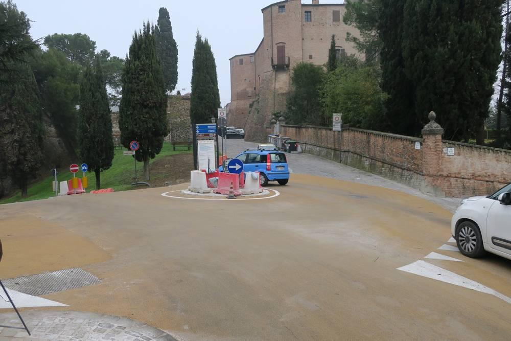 Venerdì a Santarcangelo riapre il parcheggio Cappuccini