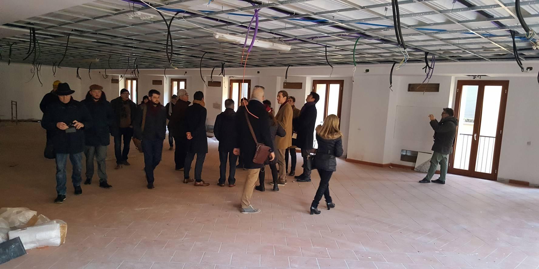 La IV Commissione in visita al Fugor. Casa del Cinema per metà 2017