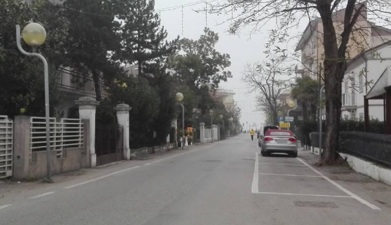 Dopo l'intervento sulla condotta riaperta via Polazzi a Viserba