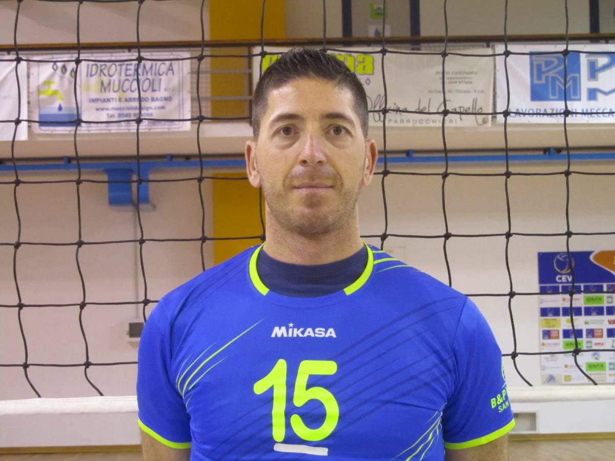 Francesco Tabarini, capitano della Titan Services