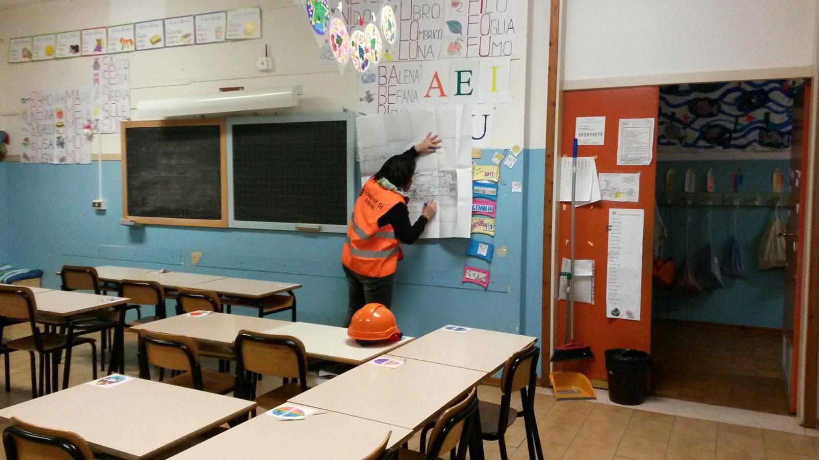 Dopo le scosse già partite le verifiche sulle scuole di Rimini