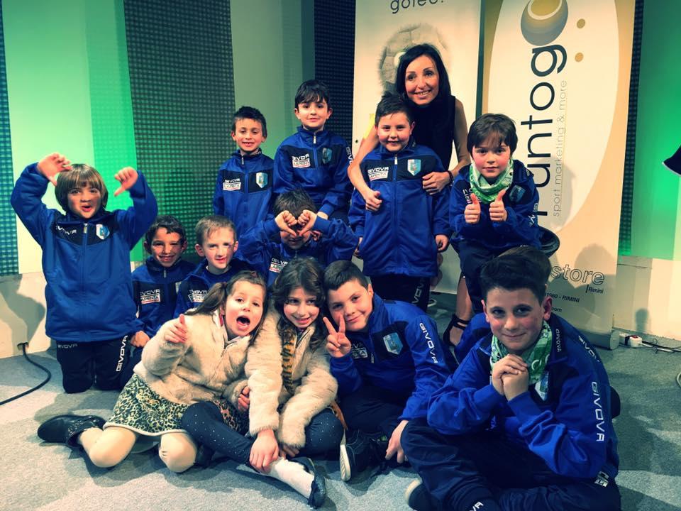 I giovani del Poggio Berni con Silvia Pedini