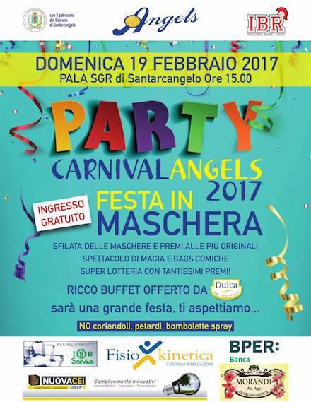 La locandina del CarnivalAngels 2017