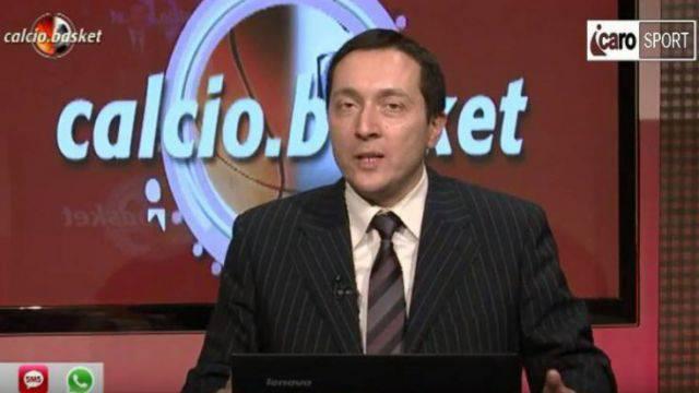 Roberto Bonfantini, conduttore di Calcio.Basket