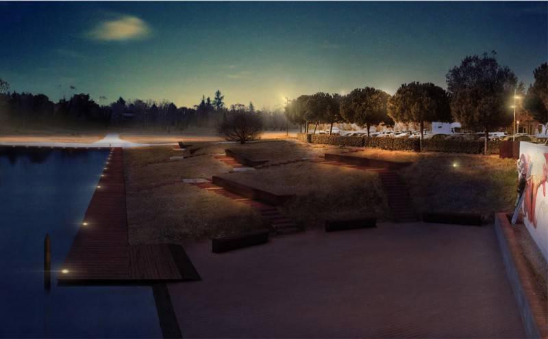 Progetto Tiberio: aggiudicati i lavori per la Piazza sull'acqua Parco Marecchia