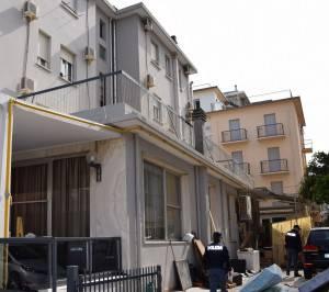 l'hotel chiuso
