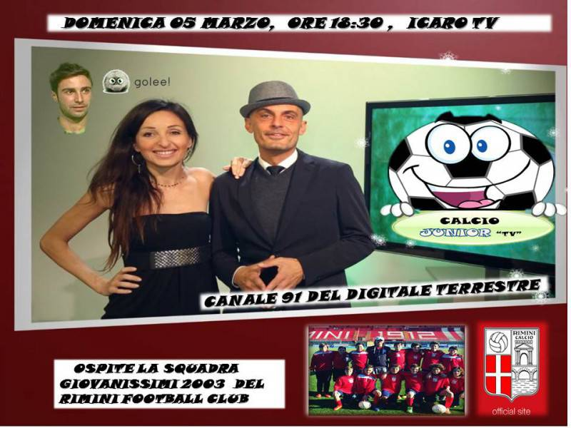 calcio junior tv
