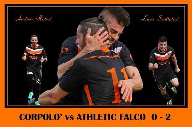 La copertina dell'Athletic Falco