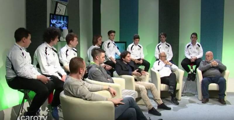 Lo studio di Calcio Junior TV del 26 marzo - San Vito