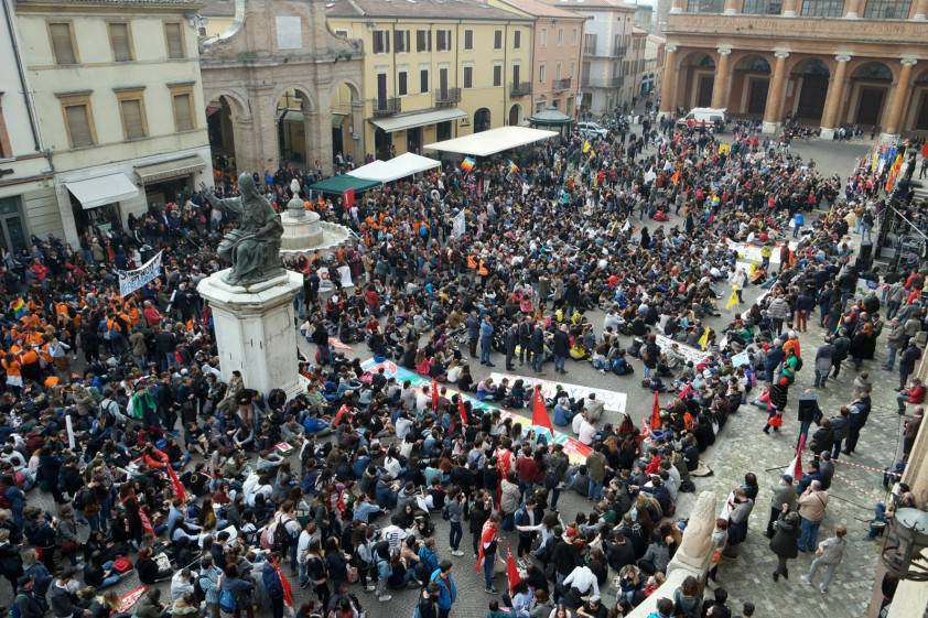 Giornata della Memoria Vittime delle mafie, il corteo a Rimini (gallery)