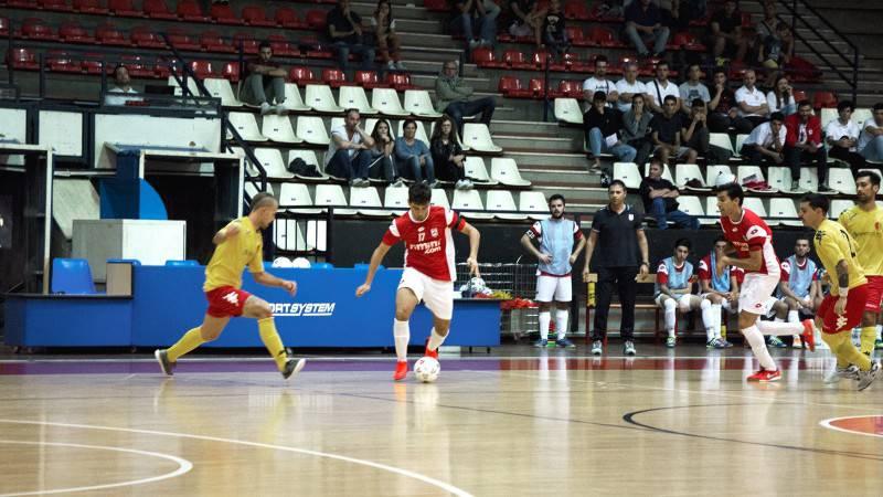 Calcio a 5. Reggio Emilia-Rimini 1-1