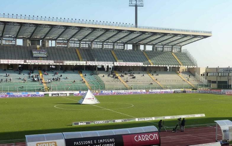 Legapro. Padova-Santarcangelo, primo tempo 1-0