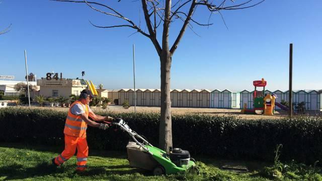 Per Geat manutenzione del verde e preparativi per Pasqua
