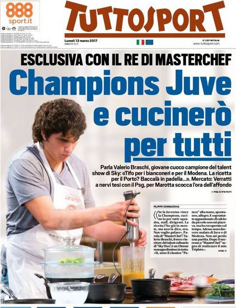 Valerio Braschi su Tuttosport: