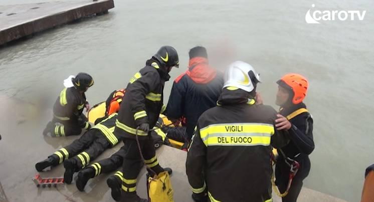 Tragedia in mare, il cordogli del sindaco Gnassi. Torna alla mente il Parsifal