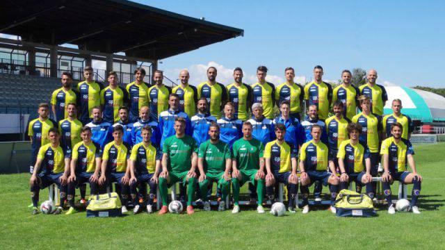 La foto ufficiale del Santarcangelo Calcio 2016-2017