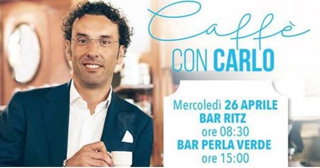 Conti (Patto Civico): in linea con Macron. Al via tour nei caffé
