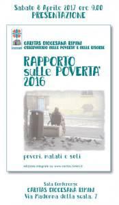 rapporto povertà 2017