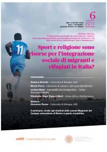 sport religione e immigrazione