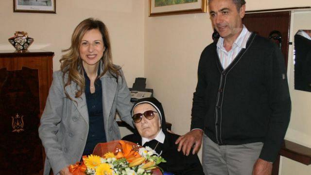 Coriano festeggia i 104 anni di suor Maddalena