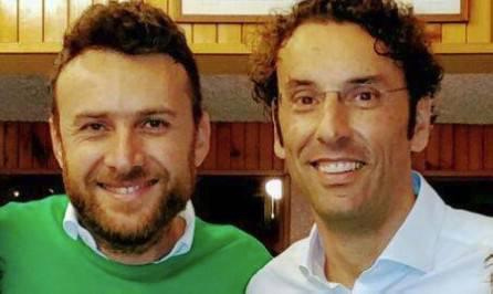 Fabio Ubaldi e Carlo Conti
